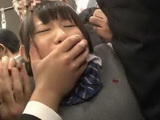Old Perverts Molesting Young Schoolgirl In The Bus