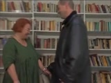Plump Mature Granny Fucked Hardcore In Library Gets Cum On Tits