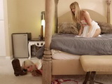 Intrusion In Her Best Friend Room To Steal Things Is Punished With Good Licking