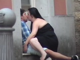 Couple Thought Nobody Can See Them Fucking In Public