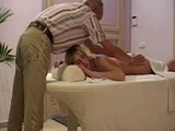 Old Chiropractic Fucked Sexy Blonde During Massage