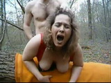 German MILF Fucks In The Ass Everyday In the Woods With Her Colleague